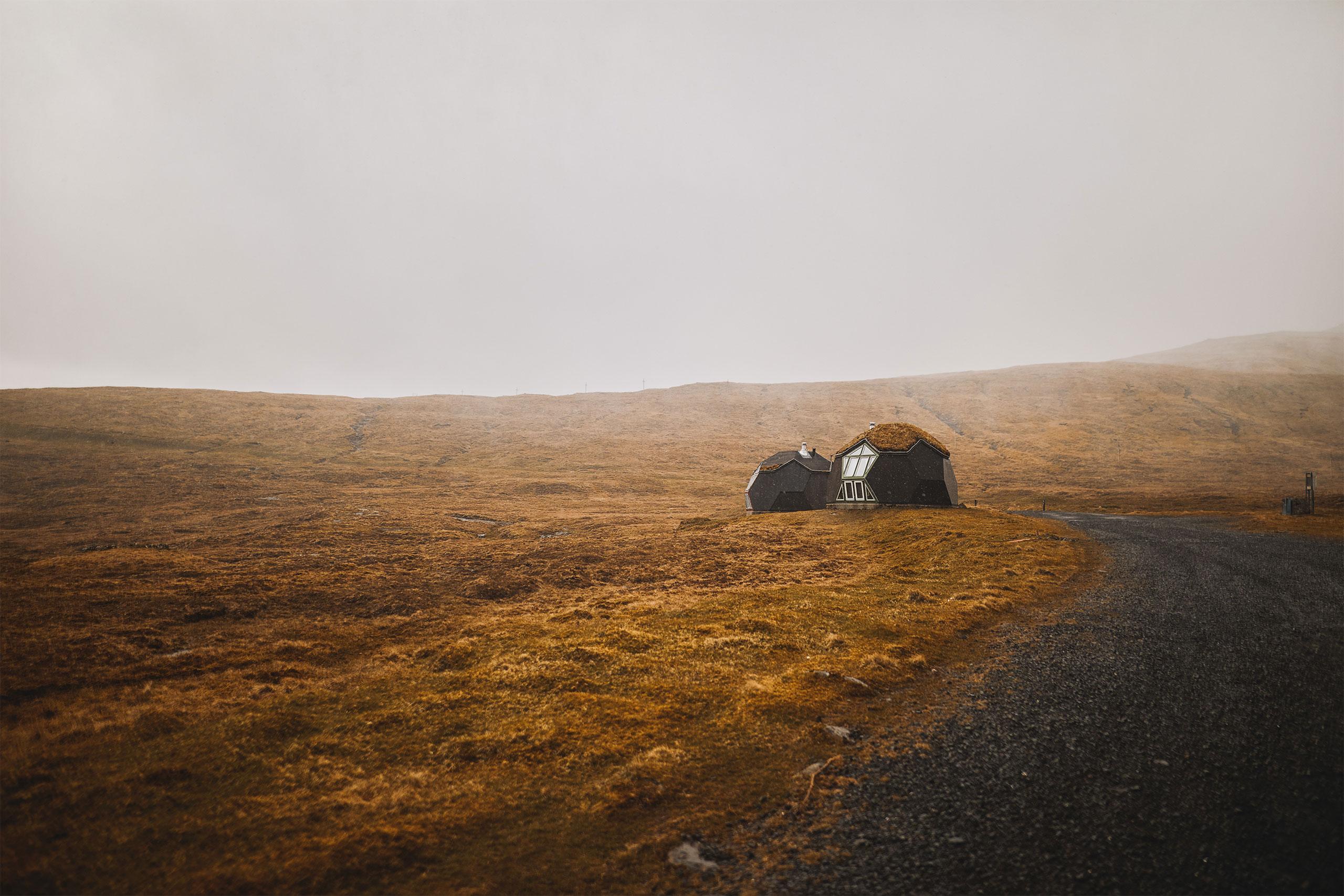 Easydomes at the Faroer Islands by Ole Vanggaard and Kári Thomsen